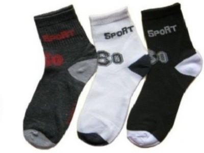 Killys Men's Solid Ankle Length Socks