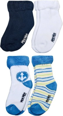 Mee Mee Baby Boys Printed Ankle Length Socks