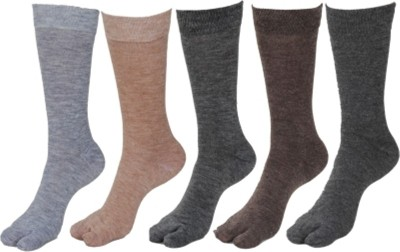 Bigshoponline Men's Self Design Knee Length Socks