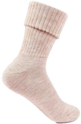 Bonjour Women Solid Mid Calf/Crew Bonjour Men's and Women's Socks