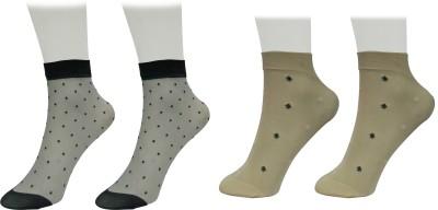 GOLDDUST Women Printed Ankle Length GOLDDUST Men's and Women's Socks