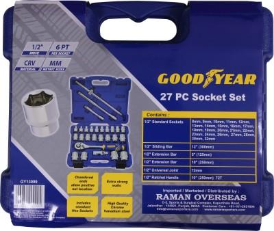 Goodyear-SI-01-27-Pc-Drive-Socket-Set