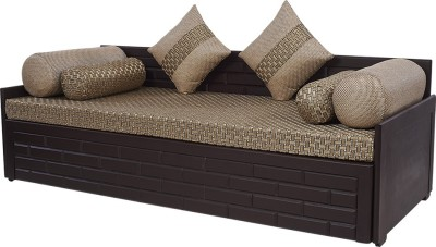 63 Off On Arra Brick Sofa Bed Double, Brown Cloth Sofa Bed