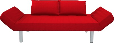 Camabeds Siller Single Metal Sofa Bed(Finish Color - Red Mechanism Type - Fold Out)