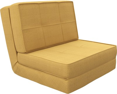 Camabeds Isten Futon Single Metal Sofa Bed(Finish Color - Brown Mechanism Type - Fold Out)