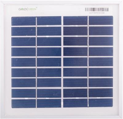 Goldi Green 3 Watt Solar Panel  available at flipkart for Rs.341