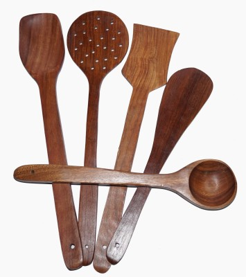 Sparkle India Wooden Spatula Pack of 5