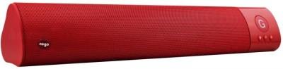 ROQ Wm-1300 High Bass Portable Bluetooth Soundbar(Red, 2.0 Channel)