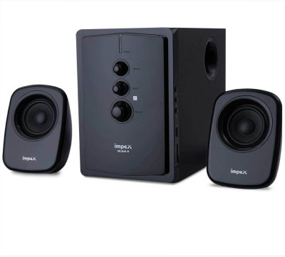 Impex 2.1 (MUSIK R) Portable Home Audio Speaker(Black, 2.1 Channel)