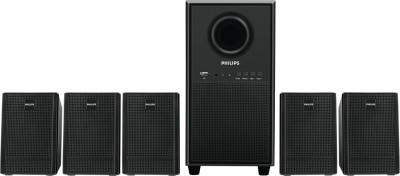 Philips IN-SPA3000U/94 Home Audio Speaker(Black, 5.1 Channel)