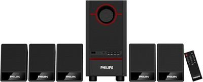 Philips SPA3500F/94 Portable Home Audio Speaker(Black, 5.1 Channel)