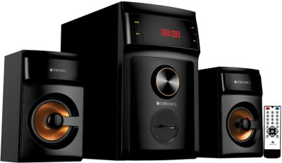 Zebronics SW3540RUCF Home Audio Speaker(Black, 2.1 Channel)