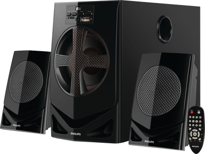 Philips MMS2030F/94 Home Audio Speaker(Black, 2.1 Channel)