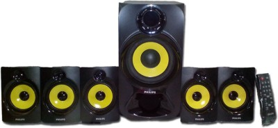 Philips IN-SPA3800B/94 Portable Bluetooth Home Audio Speaker(Black, 5.1 Channel)