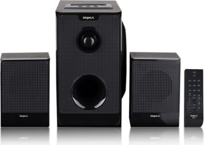 Impex 2.1 (MICRO R1) Portable Home Audio Speaker(Black, 2.1 Channel)