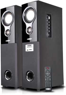 Oscar OSC-16600-BT Bluetooth Home Audio Speaker(Black, 2.0 Tower Speaker Channel)