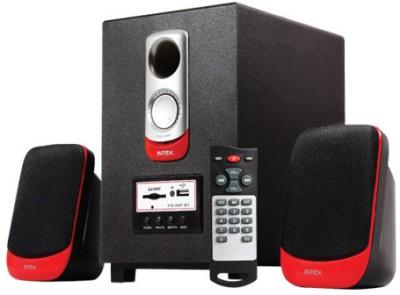 Intex IT-170 SUF Bluetooth Bluetooth Home Audio Speaker(Black, 2.1 Channel)