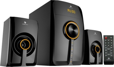 Zebronics 2.1 Multimedia SW3530 RUCF Home Audio Speaker(Black, 2.1 Channel)