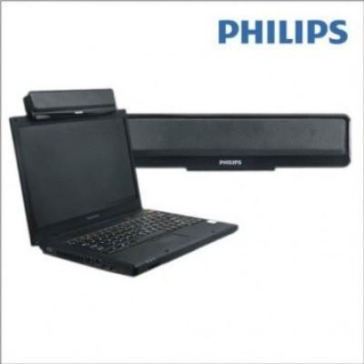 Philips SPA75B/94 10 W Portable Laptop/Desktop Speaker(Black, Mono Channel)