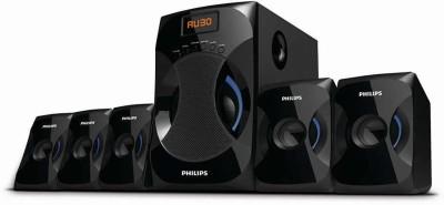 Philips IN-SPA4040B/94 45 W Bluetooth Laptop/Desktop Speaker(Black, 5.1 Channel)