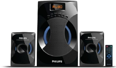 Philips IN-MMS4545B/94 42 W Bluetooth Laptop/Desktop Speaker(Black, 2.1 Channel)