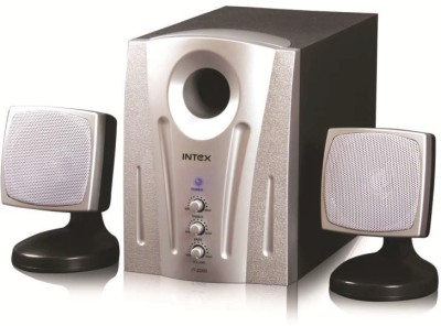 Intex IT 2000 Sb OS 40 W Laptop/Desktop Speaker(Silver + Black, 2.1 Channel)
