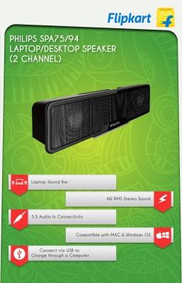 Philips-SPA75/94-Sound-Bar-Speaker