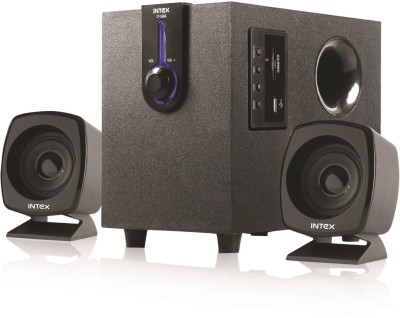 Intex IT-1666 OS 35 W Laptop/Desktop Speaker(Black, 2.1 Channel)