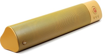 Outre WM-1300 L Size High Bass Wireless Portable Bluetooth Mobile/Tablet Speaker(Gold, 2.1 Channel)