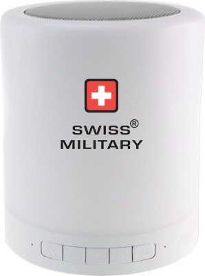 Swiss Military 6 in 1 Smart Touch Lamp with Bluetooth Speaker Portable Bluetooth Mobile/Tablet Speaker(White, Mono Channel) at flipkart