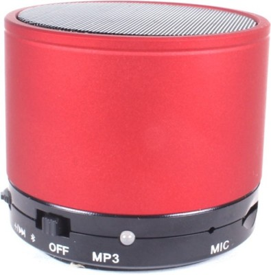CLOYST VOGUE D-04 Portable Bluetooth Mobile/Tablet Speaker(Red, Stereo Channel)