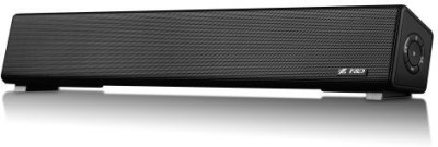 F&D E200 PLUS 5 W Portable Bluetooth Mobile/Tablet Speaker(Black, Stereo Channel)