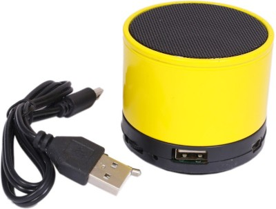 CLOYST VOGUE D-06 Portable Bluetooth Mobile/Tablet Speaker(Yellow, Stereo Channel)