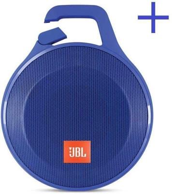 JBL Clip+ Splashproof Bluetooth Wired & Wireless Portable Mobile/Tablet Speaker(Blue, Mono Channel)