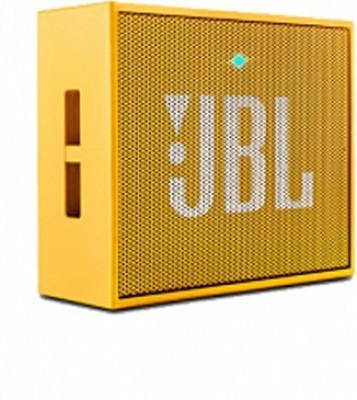 JBL Go Wireless Portable Mobile/Tablet Speaker(Yellow, Mono Channel)