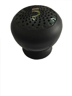 Blau Funf Mini Water Proof Mushroom Design Portable Bluetooth Mobile/Tablet Speaker(Black, 2.1 Channel)