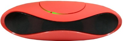 Cloyst Vogue A-01 Portable Bluetooth Mobile/Tablet Speaker(Red, Stereo Channel)