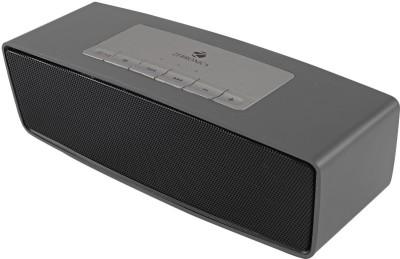 Zebronics GROOVE 6 W Portable Bluetooth  Speaker(Black, Dark Silver, Mono Channel)