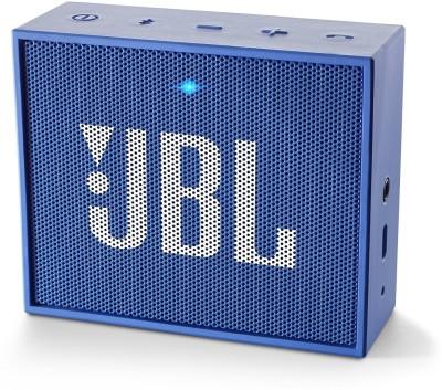 JBL GO Blue Portable Mobile/Tablet Speaker(Blue, Mono Channel)