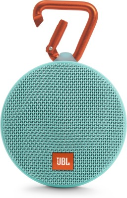 JBL CLIP 2 3 W Portable Bluetooth Mobile/Tablet Speaker(TEAL, Stereo Channel)