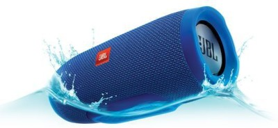 JBL Charge 3 Special Edition Portable Bluetooth Speaker, Blue
