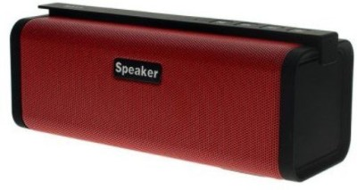 Benison India ™S311 Bluetooth Mini Wireless Stereo Music Sound Box Audio Super Bass U Disk TF Slot, with Battery as Emergent Power Bank for Charging Portable Bluetooth Mobile/Tablet Speaker(Red, 2.1 Channel)