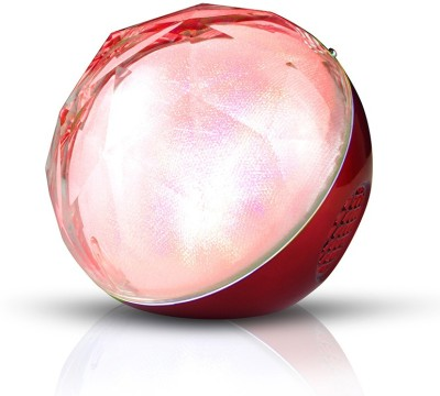 Spintronics Q8 Magic Ball Bluetooth Portable Bluetooth Mobile/Tablet Speaker(Glossy Red, Mono Channel) at flipkart