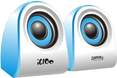 Zebronics Igloo 2.0 Channel Portable Speaker, Blue