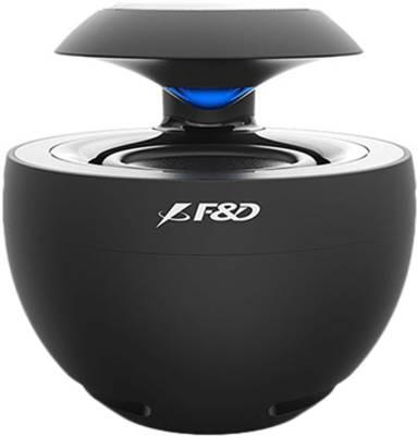 F&D Swan 2 2.5 W Portable Bluetooth Speaker  (Black, Mono Channel)