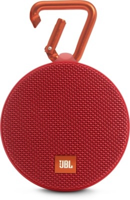 JBL CLIP 2 RED 3 W Portable Bluetooth Mobile/Tablet Speaker(Red, Stereo Channel)