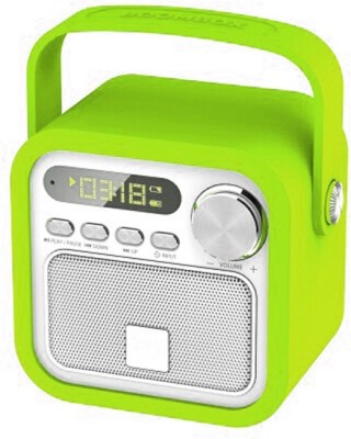 Big Impex BT-Stylish Portable Bluetooth Mobile/Tablet Speaker(Green, Mono Channel)