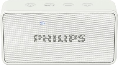 Philips BT64W/94 3 W Portable Bluetooth Mobile/Tablet Speaker(White, Mono Channel)
