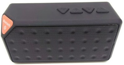 MDI X3 3 W Portable Bluetooth  Speaker(Black, Mono Channel)