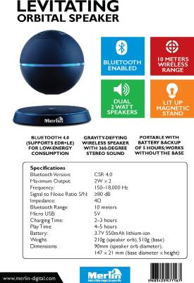 Merlin-Levitating-Orbital-Bluetooth-Speaker